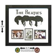 Beatles Signed Paul, John, Ringo, & George photo