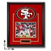 Joe Montana San Francisco 49ers Showcase Signed GFA