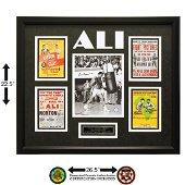 Muhammad Ali Heavyweight Champ 24x20 Signed GFA