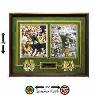 Joe Montana Notre Dame Fighting Irish Autograph GFA