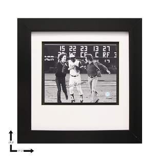 Hank Aaron Atlanta Braves Gallery Framed Signed GFA