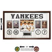 New York Yankees Legends 34x20 autographs GFA