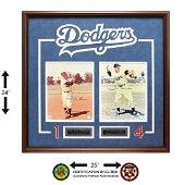 Pee Wee Reese & Duke Snider Dodgers Legends GFA