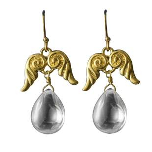 Temple St Claire Wing Dangle Earrings