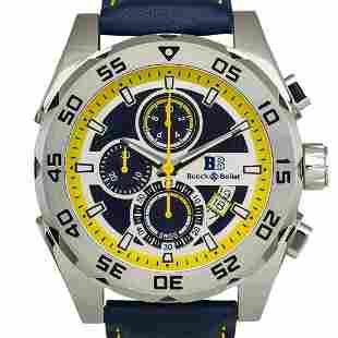 Buech & Boilat Torrent Mens Chronograph Watch