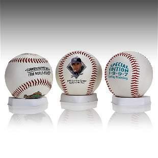 Derek Jeter New York Yankees Baseball Set