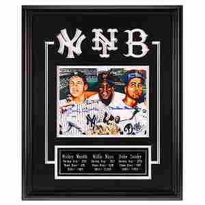 Hall Of Fame Legends 20x16 Custom Framed GFA