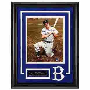 Duke Snider Los Angeles Dodgers Frame Signed