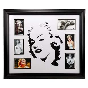 Marilyn Monroe 20x24 Custom Frame Pop-Art