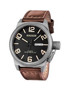 48 mm Men's Magnum Graduate Quartz Watch