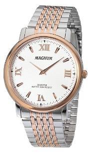 43 mm Men's Magnum Greek Quartz Watch