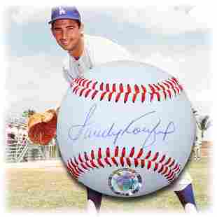 Sandy Koufax L.A Dodgers Signed Baseball GFA