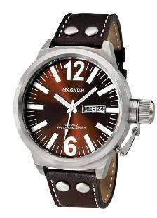 48 mm Men's Magnum Principal Quartz Watch