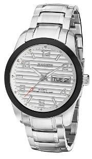 42 mm Men's Magnum Linguist Quartz Watch