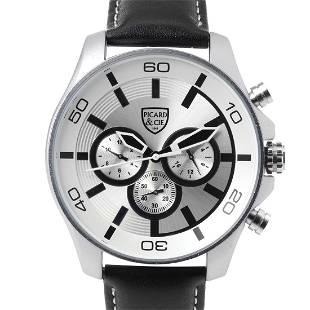 Picard & Cie Excalibur D-T Silver Men's Watch
