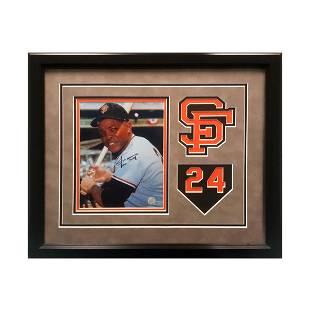 Willie Mays San Francisco Giants 20x16 Signed GFA