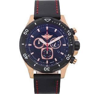 Zentler Freres Rodan 45mm Case Chronograph Watch