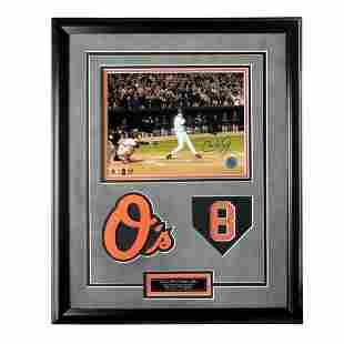 Cal Ripken Jr Baltimore Orioles 20x16 Frame 8x10h GFA