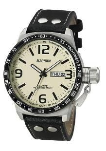 48 mm Men's Magnum Professor Quartz Watch