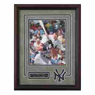 Don Mattingly N.Y Yankees 12x16 Signed Framed GFA