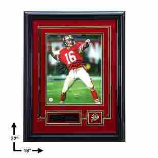 Joe Montana San Francisco 49ers Signed 8x10 GFA