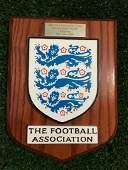 2002 World Cup England Award x Brazil Trophy