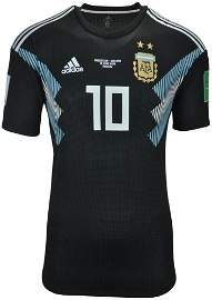 LIONEL MESSI ARGENTINA GAME ISSUE JERSEY 2018 WORLD CUP