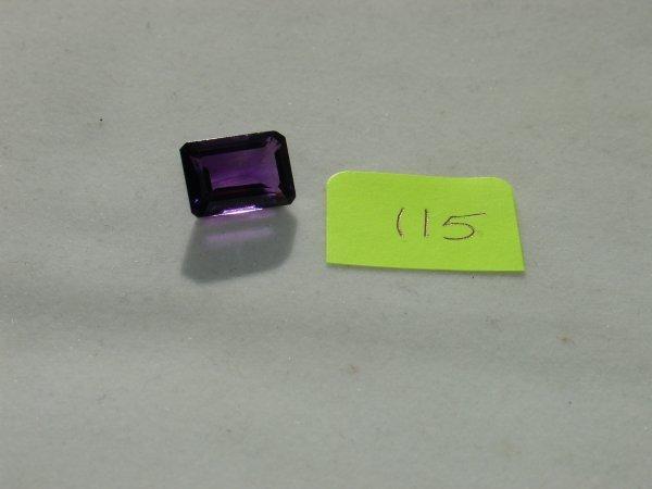 215: Amethyst Semi Precious Loose Stone Certified