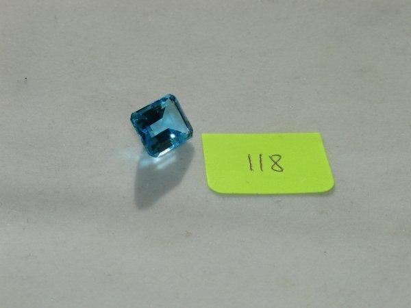 218: Topaz Semi Precious Loose Stone Certified