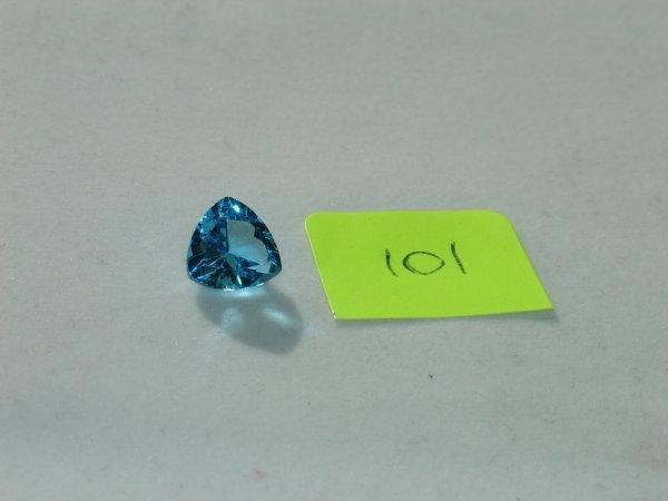 301: Topaz Semi Precious Loose Stone Certified