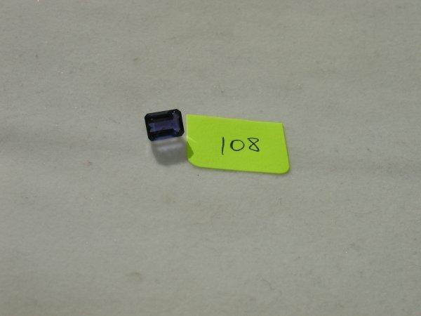 308: Iolite Semi Precious Loose Stone Certified
