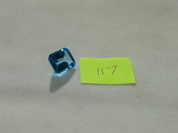317: Topaz Semi Precious Loose Stone Certified
