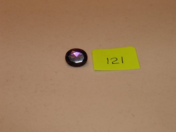 321: Amethyst Semi Precious Loose Stone Certified