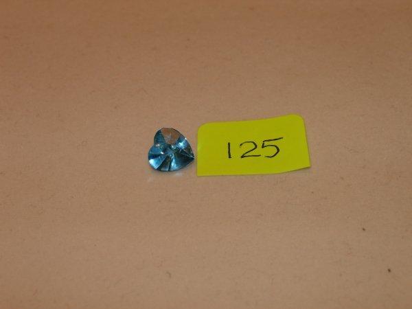 325: Topaz Semi Precious Loose Stone Certified