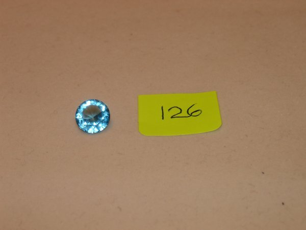 326: Topaz Semi Precious Loose Stone Certified