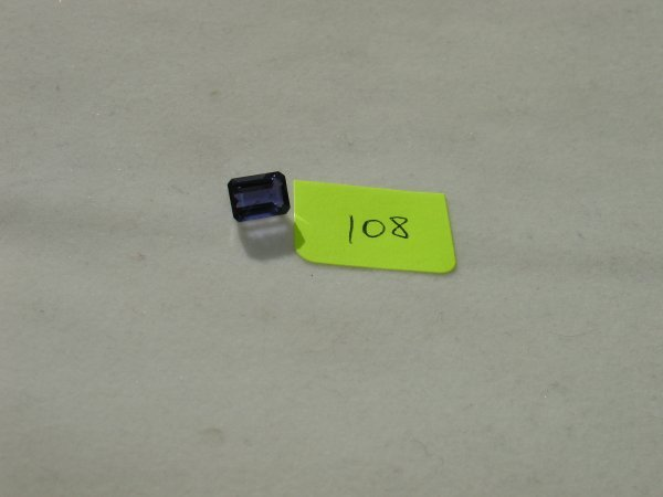 408: Iolite Semi Precious Loose Stone Certified