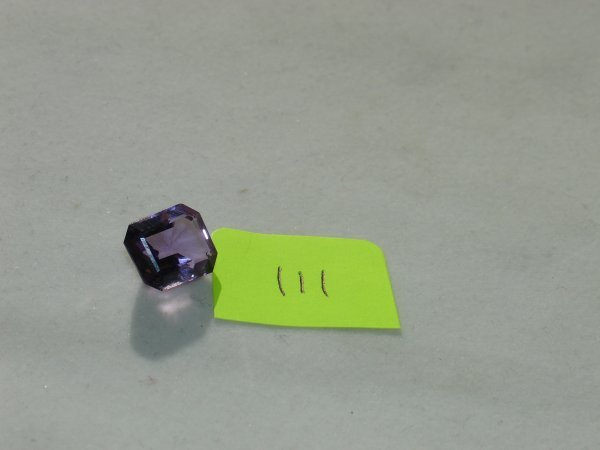 411: Amethyst Semi Precious Loose Stone Certified