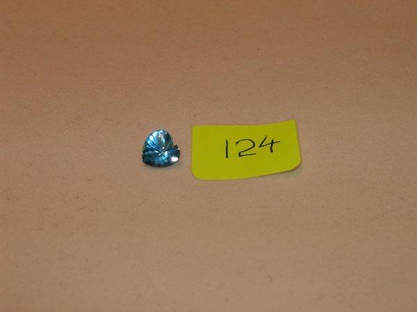 424: Topaz Semi Precious Loose Stone Certified