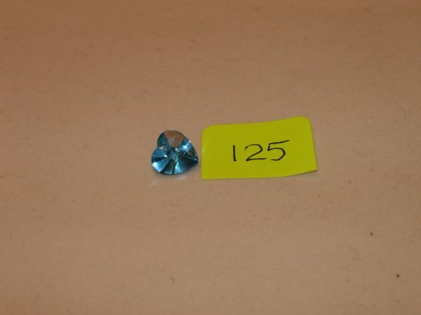 425: Topaz Semi Precious Loose Stone Certified