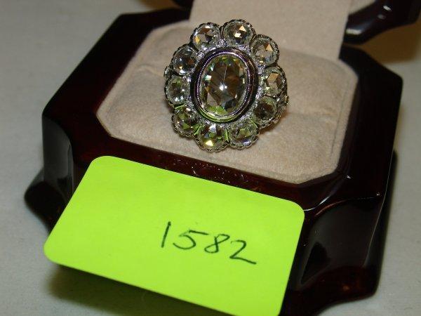 4582: Ring - Diamond Yellow Gold