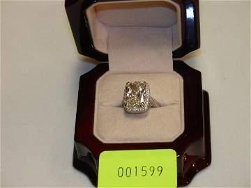 4599: Diamond Ring Platinum
