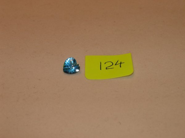 524: Topaz Semi Precious Loose Stone Certified