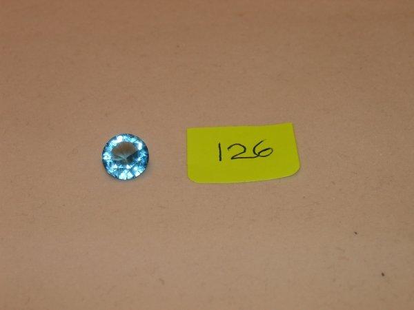 526: Topaz Semi Precious Loose Stone Certified