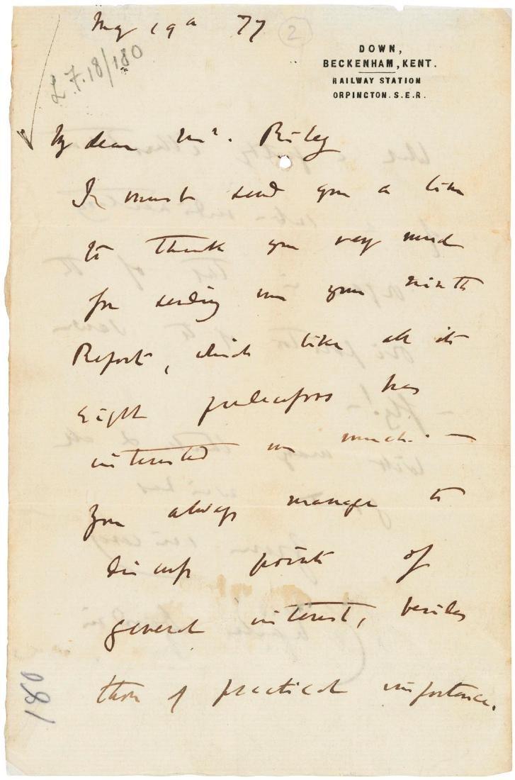 Darwin and the entomologist