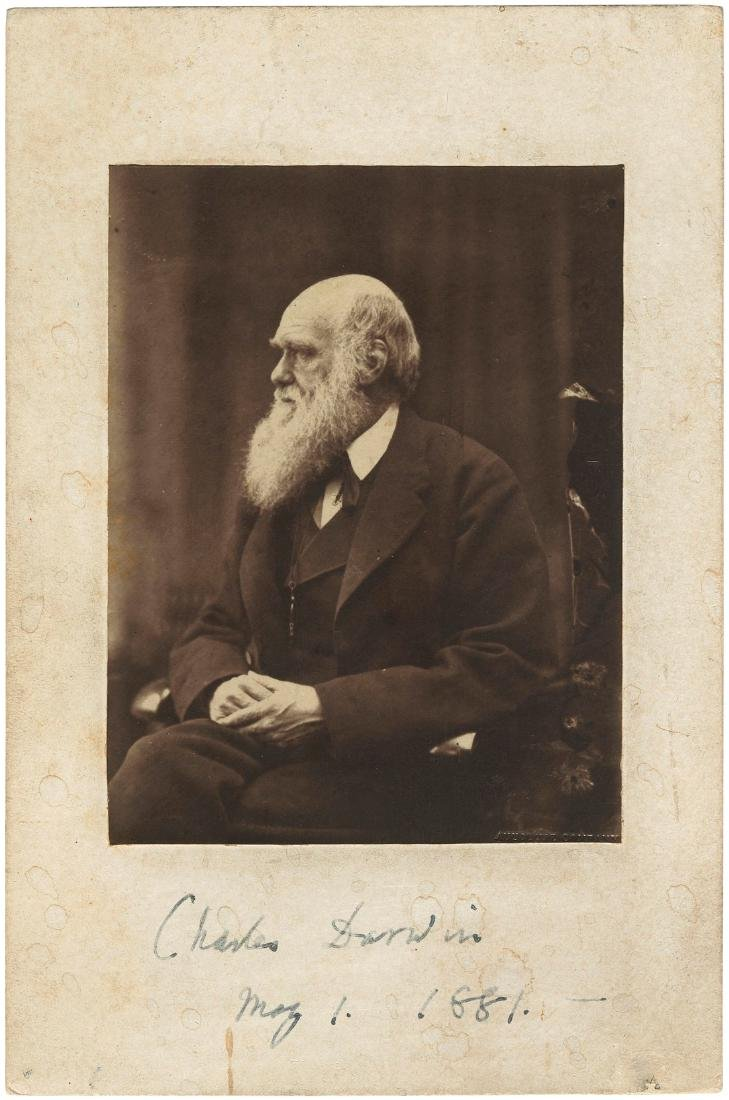 Darwin by his favourite photographer