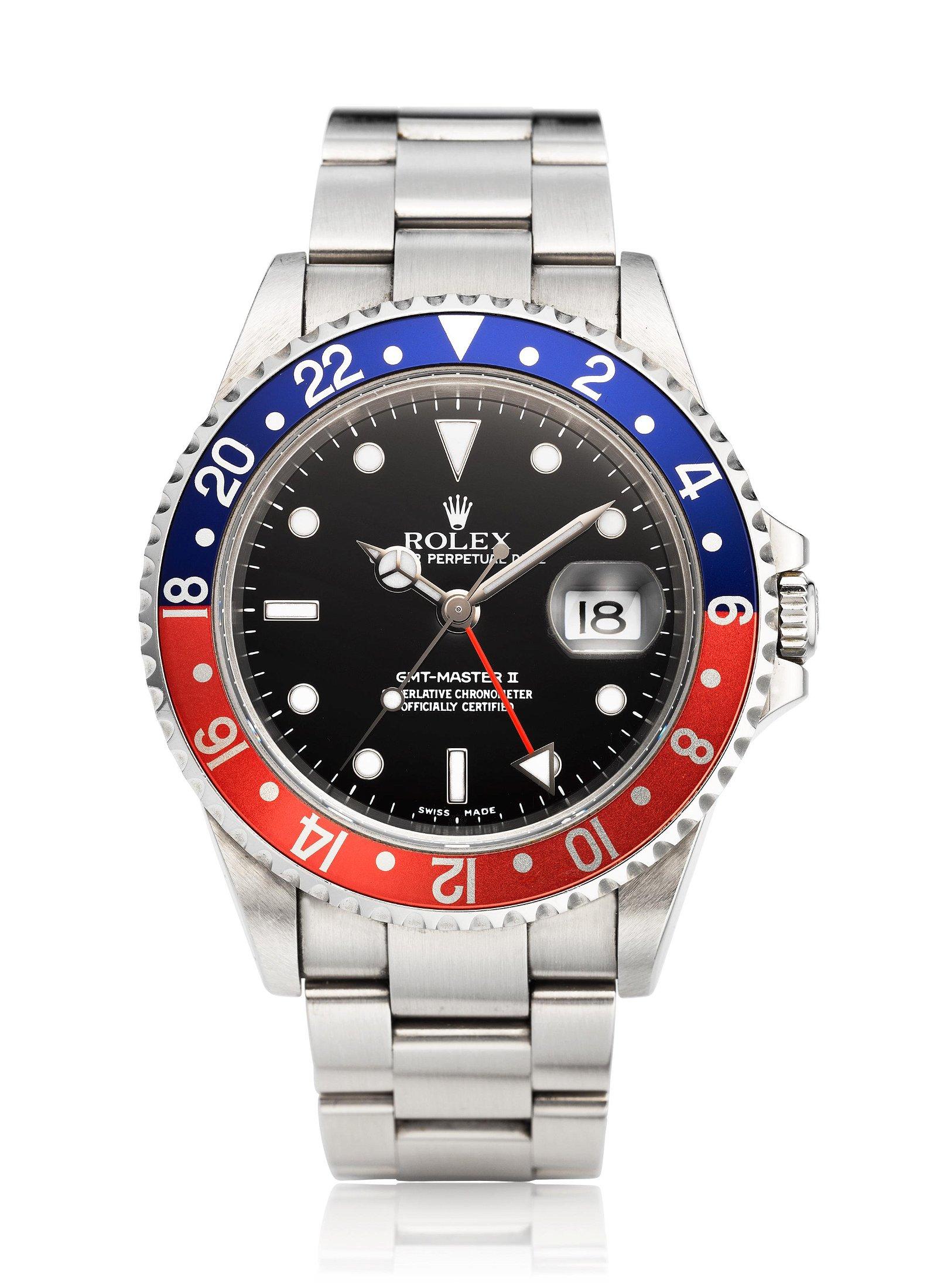 ROLEX, GMT-MASTER II 'PEPSI', REF. 16710 T
