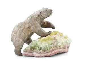 AN AMERICAN MODEL OF A BEAR