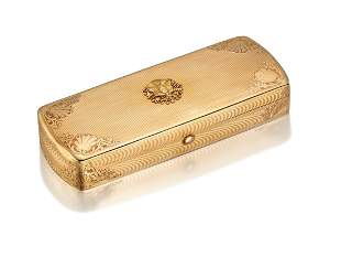 A CONTINENTAL GOLD CASE