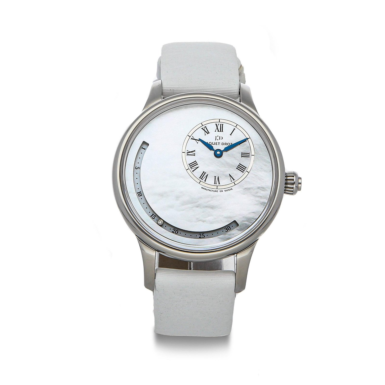 JAQUET DROZ, PETITE HEURE MINUTE DATE ASTRALE,