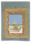 A SEATED PORTRAIT OF MAHARAJA SAWAI MADHO SINGH OF